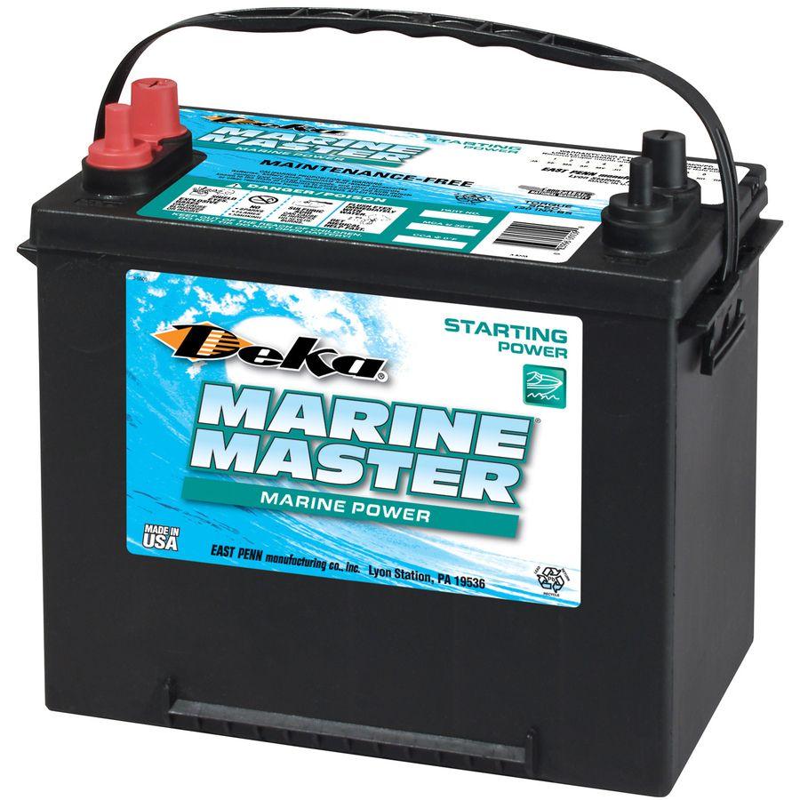 Deka 12 Volt 1000 Amp Marine Battery Lowes Com Marine Batteries Marine 24 Volt Battery