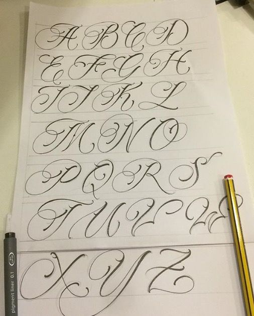 Letras Hand Lettering Alphabet Tattoo Lettering Fonts Tattoo