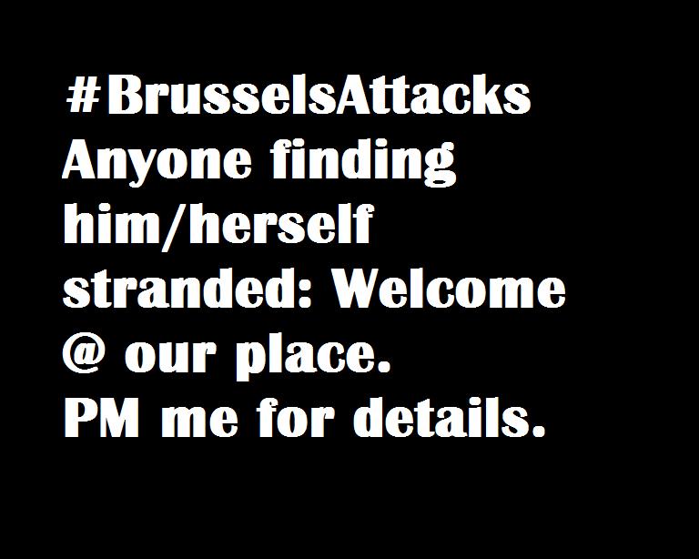 #BrusselsAttacks