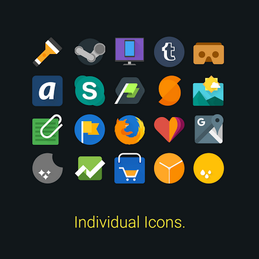 Apklio icon pack Icon pack, Android icons, Icon design