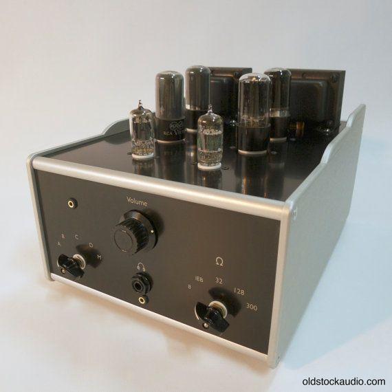 DIY Kit Tube / Valve 50L6 HiFi Stereo Preamp by OldStockAudio