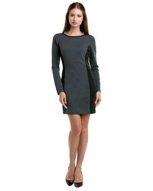 Laundry by Shelli Segal Grey & Black Colorblocked