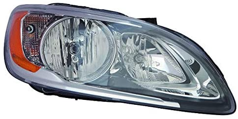 Amazon Com For Volvo S60 V60 Headlight 2014 2015 2016 2017 Passenger Right Side Headlamp Assembly Replacement Automoti Volvo Volvo S60 Motor Vehicle Safety
