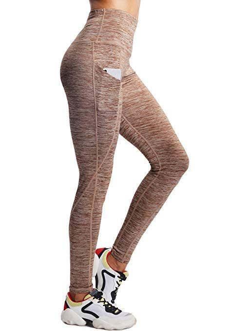 release info on special section cheapest price Women's Tummy Control High Waist Leggings with Pockets. I ...