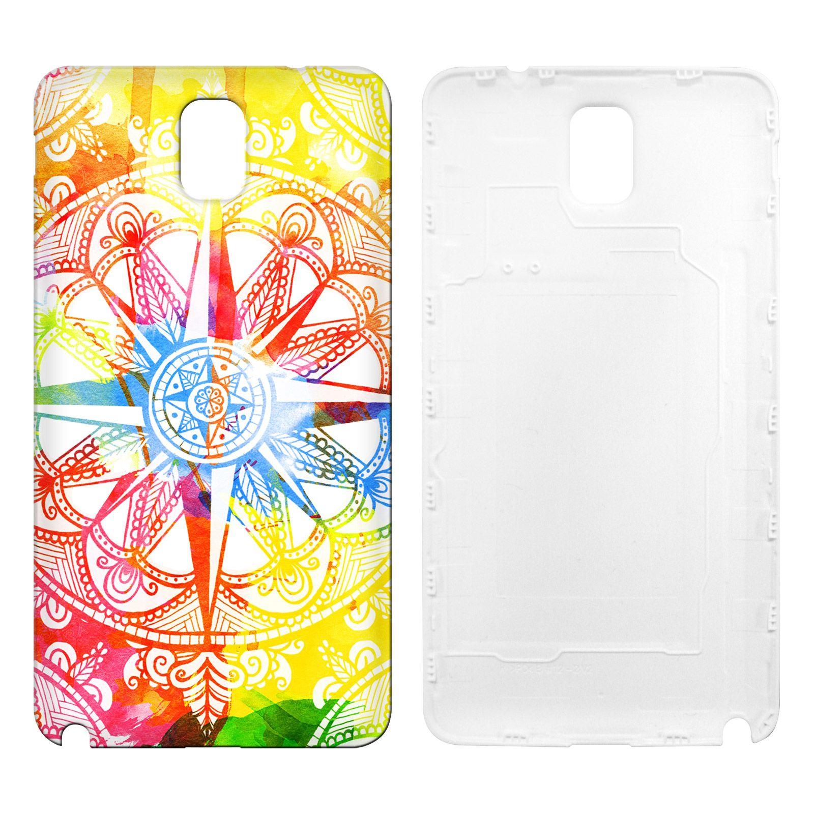 Head Case Designs Watercolour Compass Designs for Samsung Galaxy Note 3 N9000 N9002 N9005
