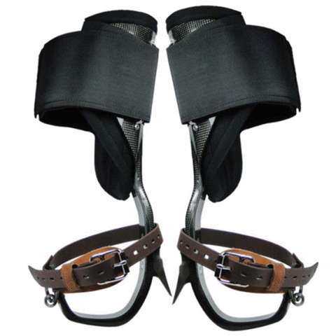 Pin By Steven On Arborist Leather Straps Metal Working Climbing Gear