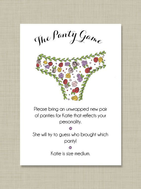 printable custom bridal shower panty game by pippypapergoods 1200