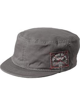 11db6342f4f19 Canvas-Cadet Caps for Baby