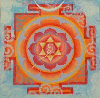 bhuvaneshwari yantra  i love this inner design and the