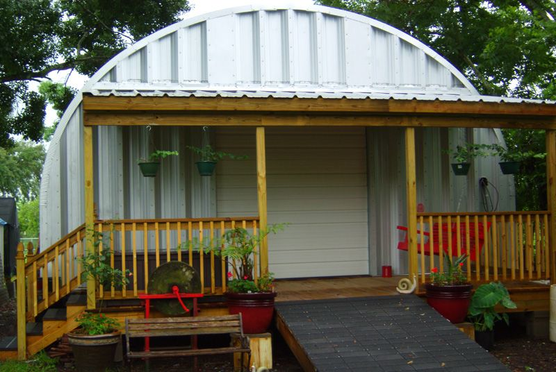 I like the porch Quonset hut, Quonset hut homes