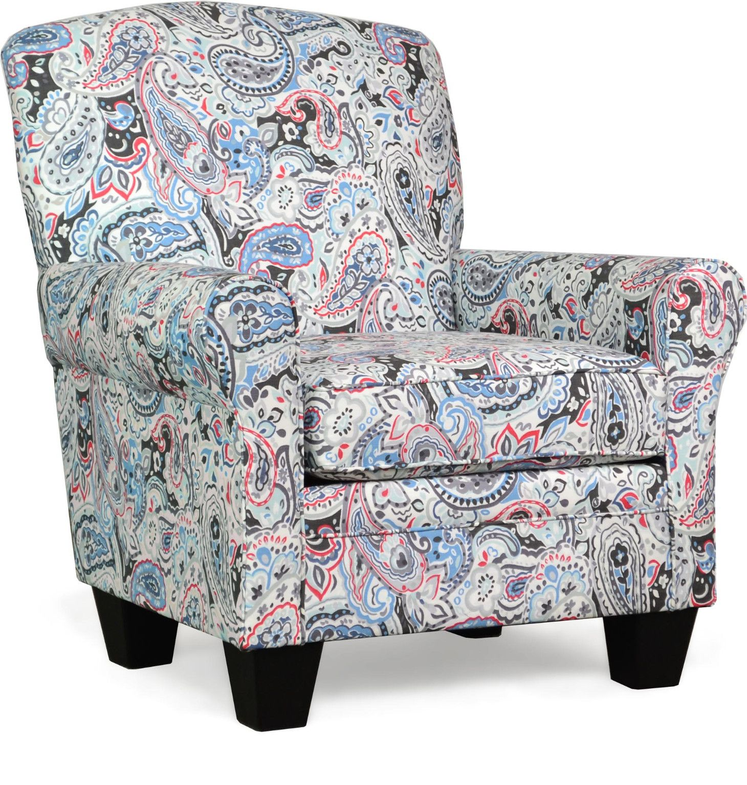 Best Quinn Accent Chair In Esparanza Garnet Transitional Style 640 x 480