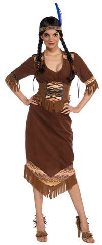 Princess Little Deer Adult Costume - Native American Indian Costumes