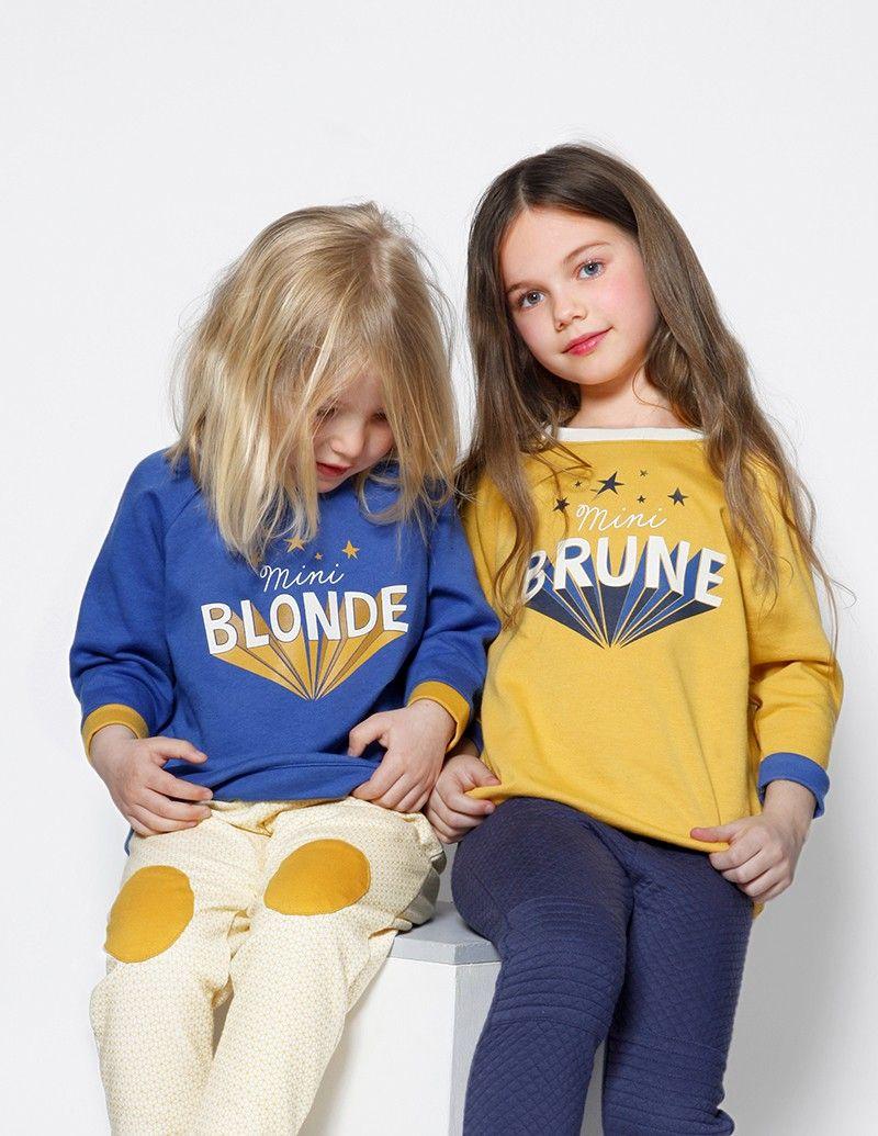 Kinderkleding Kids.Sweat Mini Brune Blune Online Baby Kids Teens Kinderkleding