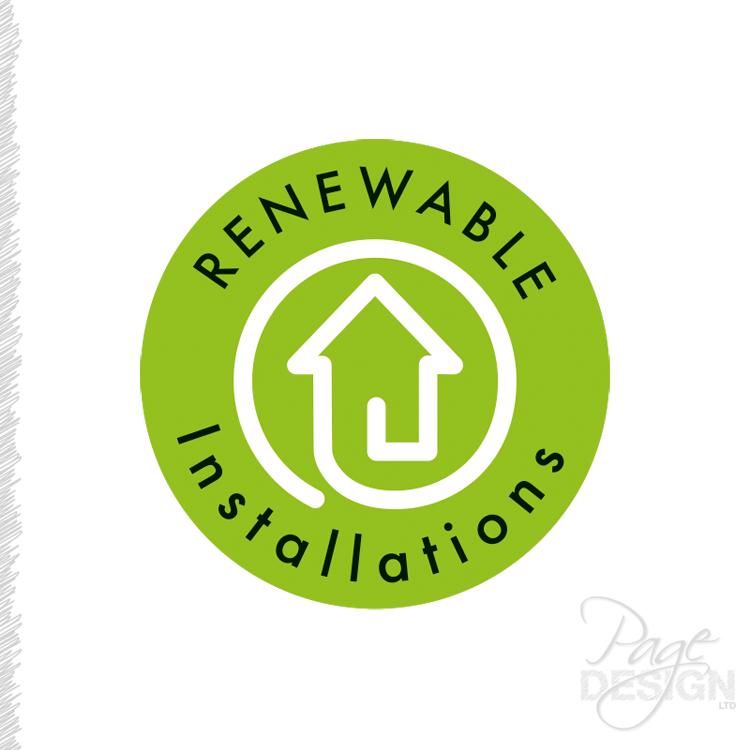 Logo design for Renewable Installations, Auckland, NZ