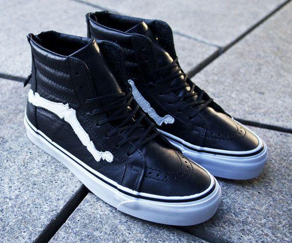 62228470ef Blends x Vans Vault Sk8-Hi Zip LX - SneakerNews.com