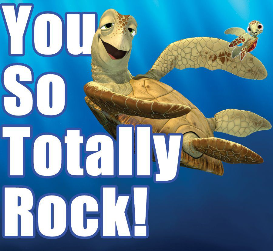 """From """"Finding Nemo""""; reminds me of my boy. 