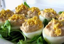 dieta cetosis receta de huevos rellenos