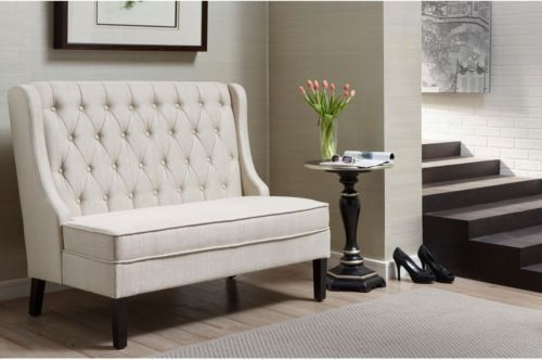 Banquette Seating Bench Entryway Dining Loveseat