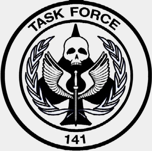 Gallery For Gt Task Force 141 Logo Mw3 Modern Warfare Call Of