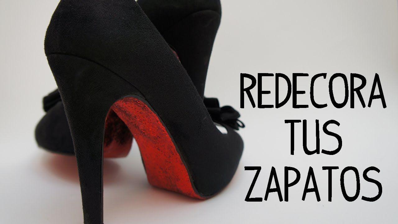 Fieltropiezos: Redecora tus zapatos a lo Louboutin