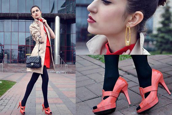 Zara Dress, Zara Trench
