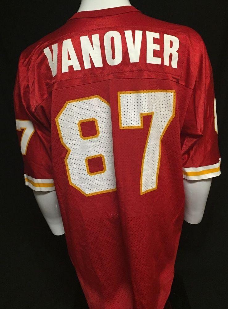 ba6b74b82b5e Vintage Kansas City Chiefs Tamarick Vanover Large 48 Champion Jersey   Champion  KansasCityChiefs