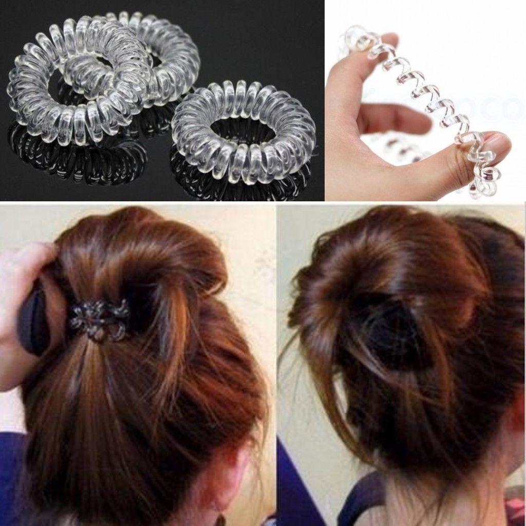 2Pcs//Set Hair Tools Hairband Magic Buns Bow Braiders Hairpin Headwear Hair Rope