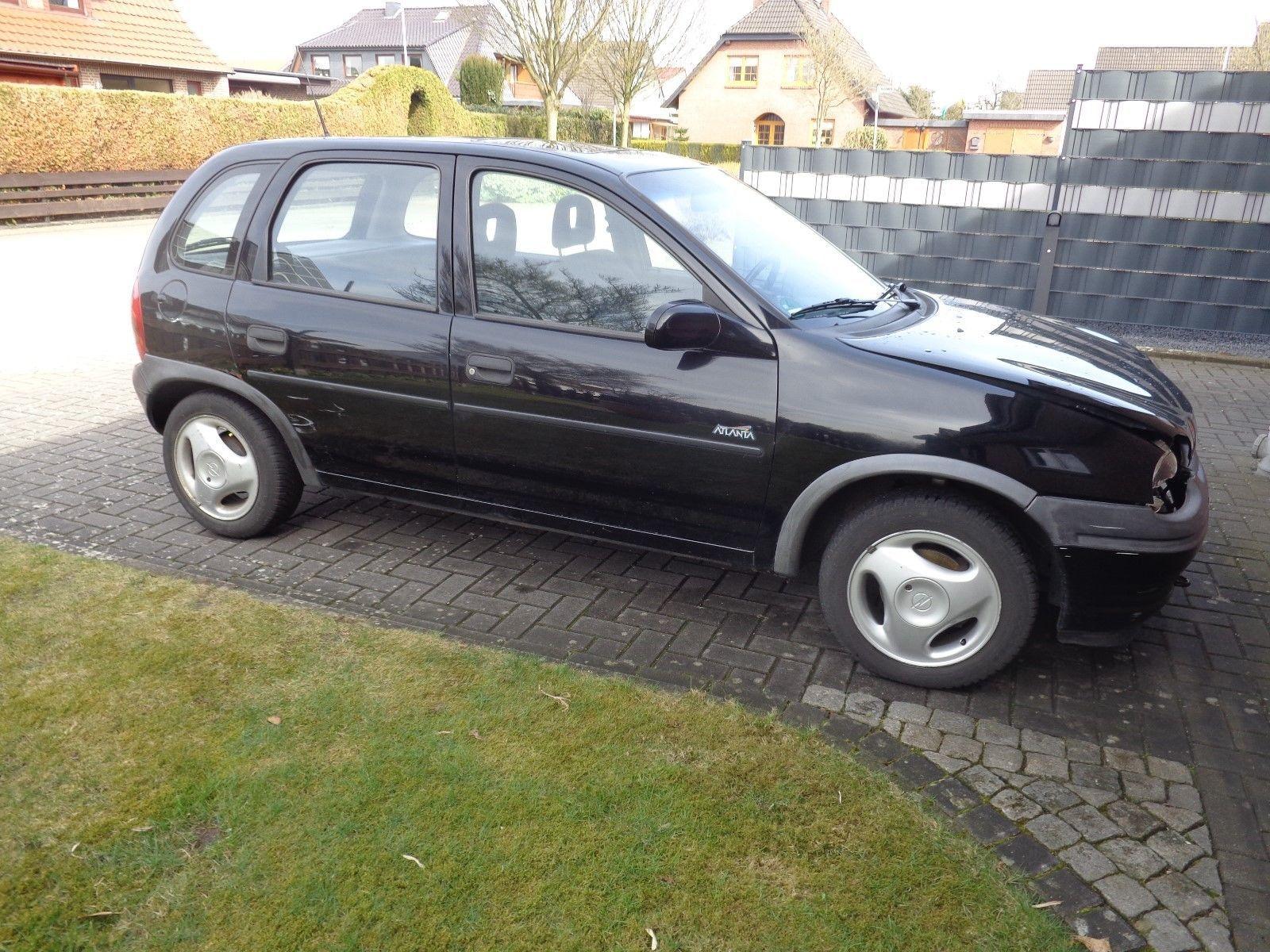 Opel Corsa B 1.4l 4 Türer mit Anhängerkupplung und Schiebedach Check ...