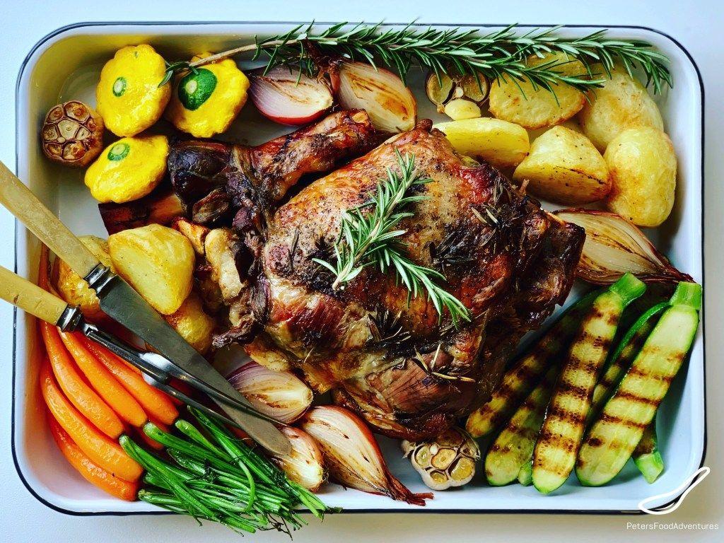 Slow Roast Leg of Lamb recipe, perfect for a Sunday Roast ...