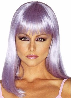 fantasy hair revlon fantasy funky color wigs type of hair made of synthetic hair - Colored Wig
