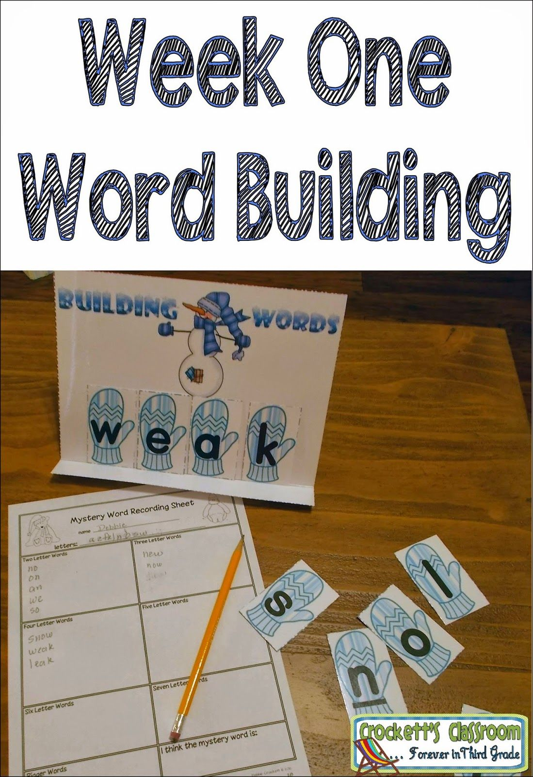 How many words can you make with these letters? Fun and
