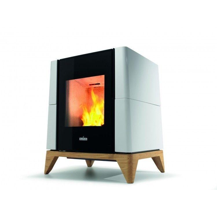 Stufa a pellet ravelli ecoteck aria 6 kw poele stove for Parametri stufa pellet ravelli
