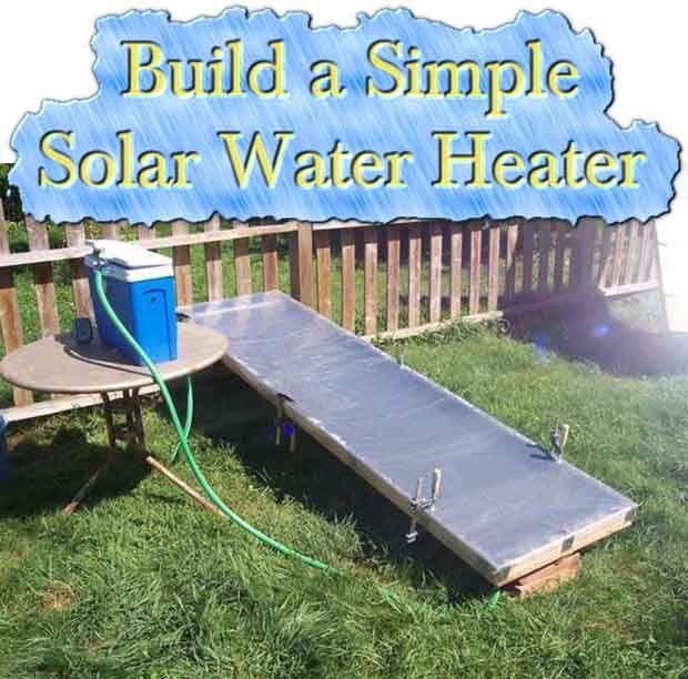 construire un chauffe eau solaire simple chauffe eau solaire diy pinterest chauffe eau. Black Bedroom Furniture Sets. Home Design Ideas