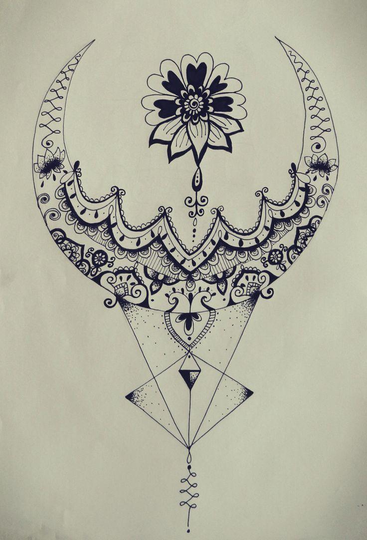 Photo of Tatto Ideas 2017 – triangle zentangle floral moon mandala tattoo design…. – FashioViral.net – Leading Lifesyle & Fashion Magazine
