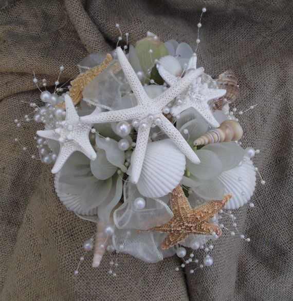 Best 25 Shell Bouquet Ideas On Pinterest