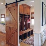 Unlike a front entry, seen by all and used by guests, the mudroom is usually a home's secondary entrance