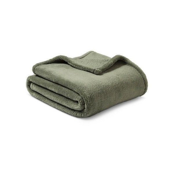 Threshold™ Fuzzy Throw : Target ❤ liked on Polyvore featuring home, bed & bath, bedding and blankets