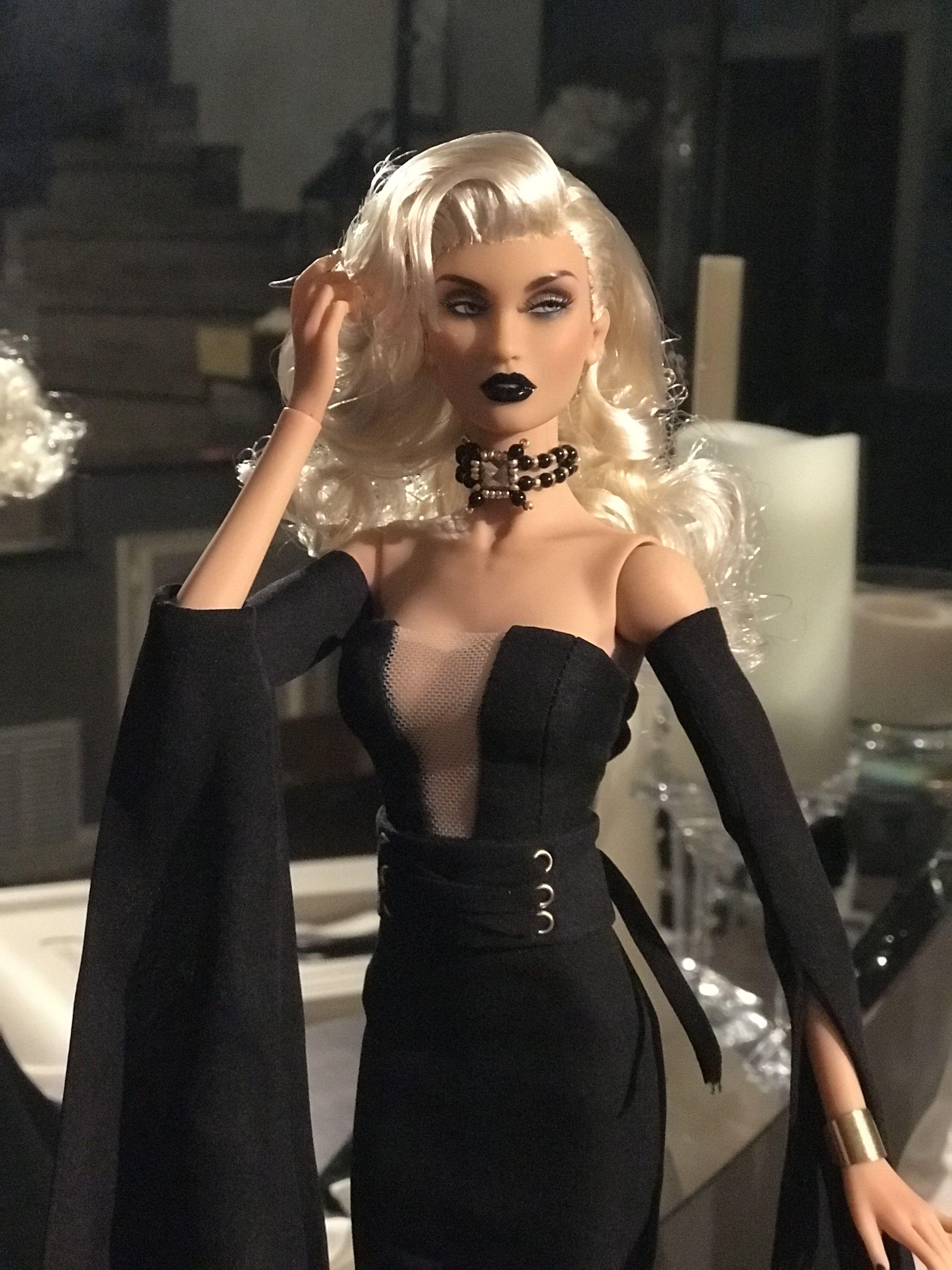 Ravenna The Black Queen Black Queen Fashion Cocktail Dress [ 4032 x 3024 Pixel ]