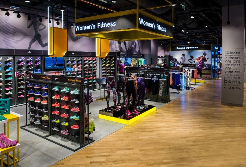 Sun & Sand Sports, Dubai, U.A.E. Внутренний дизайн