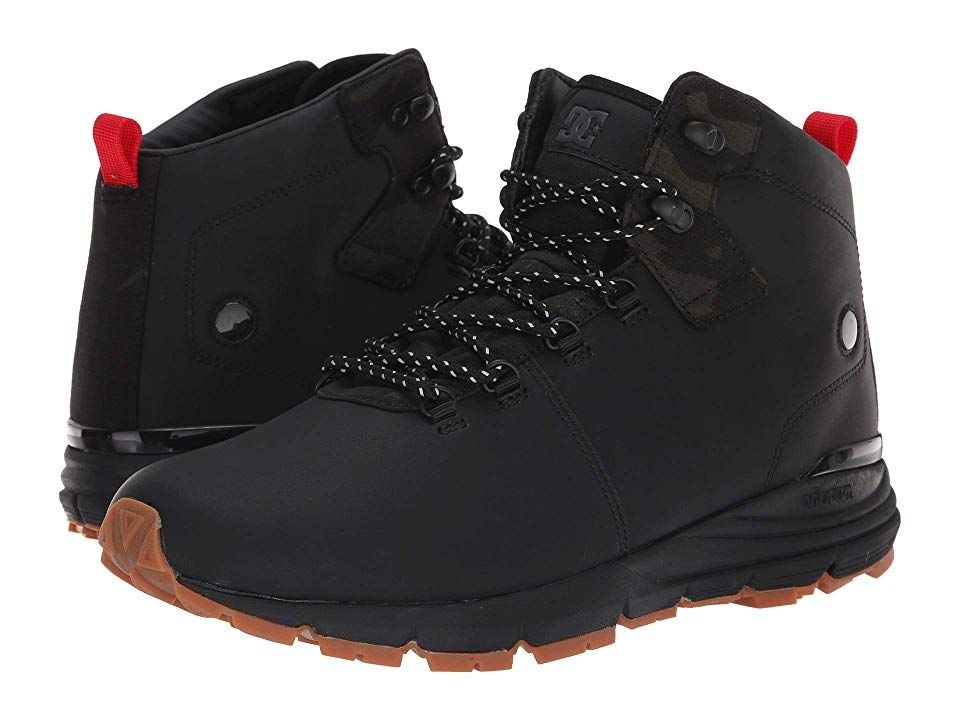 Click Black Leather D Ring Lace Up Work Safety Chukka Boots Shoes Steel Toe Cap
