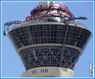 do the coasters at the Stratosphere in Vegas!