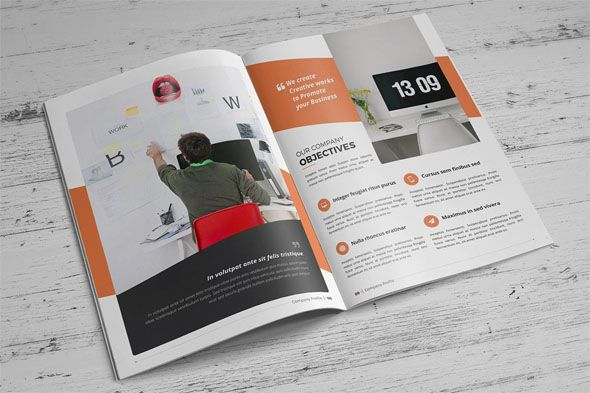Free Premium Brochure Mock Ups Brochures Corporate - Brochure templates psd free download