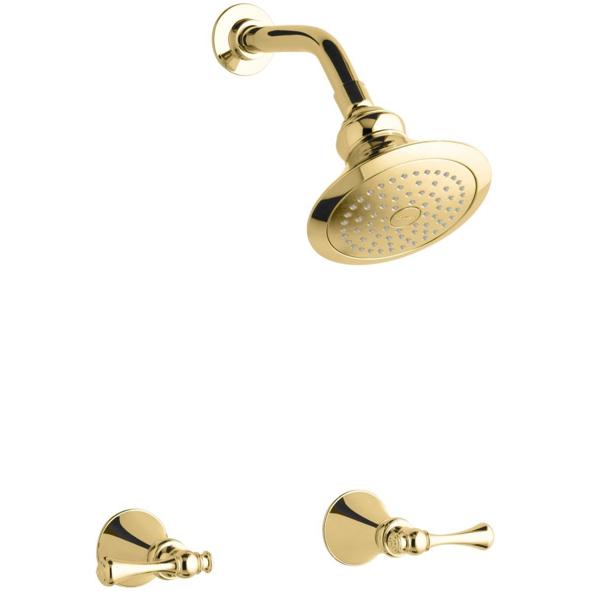Kohler K 16214 4a Pb Polished Brass Revival Shower Package With