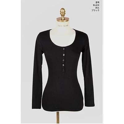 Vetement Femme Sexy Tshirt Women T Shirt 2018 Spring Summer Button T-Shirt Women Korean Tops Long Sleeve Clothes Ropa Mujer
