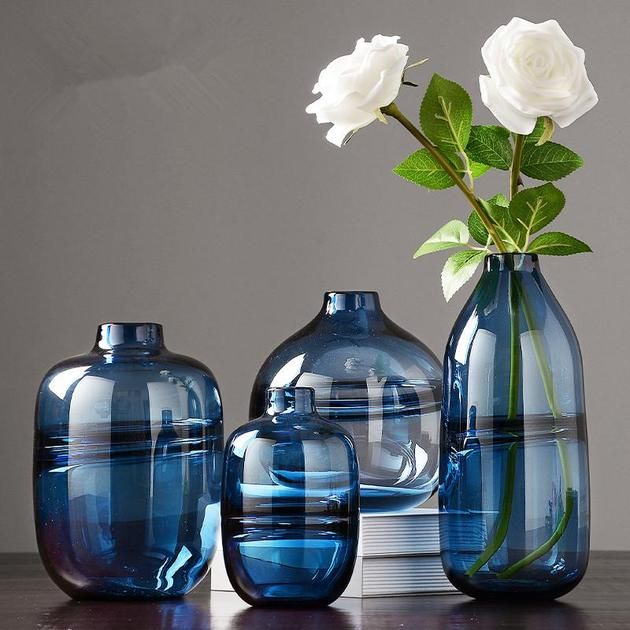 Cheap Unique Home Decor: Minimalist Clear Glass Vase In 2019