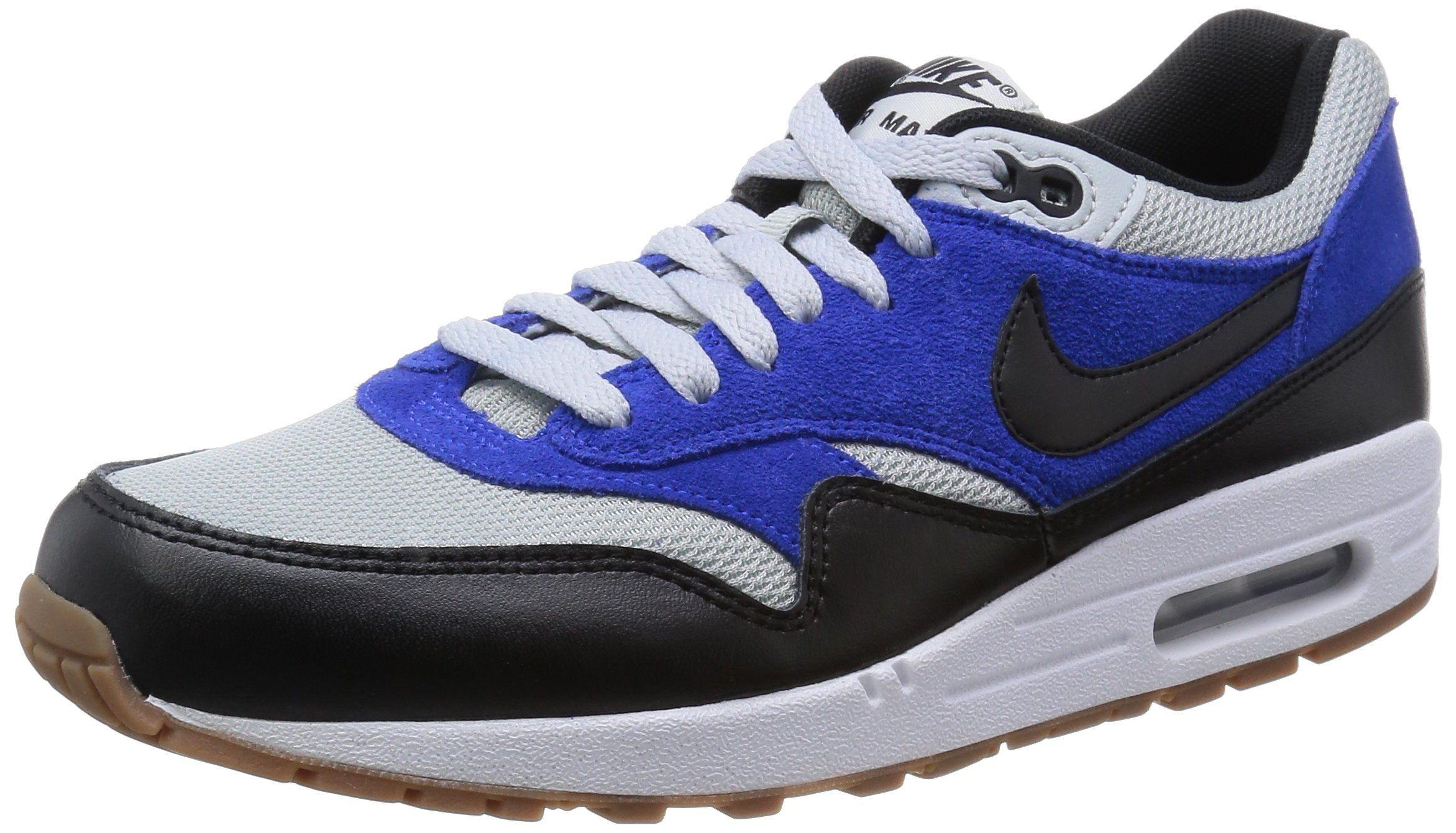 Nike Mens Air Max 1 Essential Shoes Grey Mist/Black/Lyon