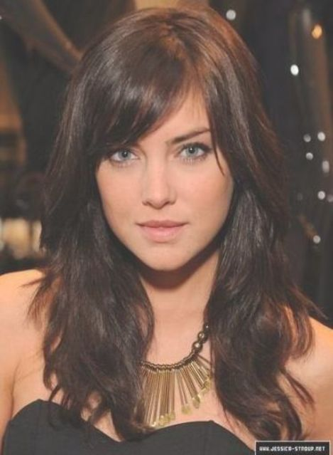Hairstyles Long Brown Side Bangs 53 Ideas For 2019 Hairstyles Side Bangs With Long Hair Long Layered Hair With Side Bangs Side Bangs Hairstyles