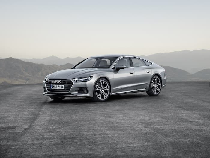 2019 audi a7 debuted at detroit motor show automobiles pinterest