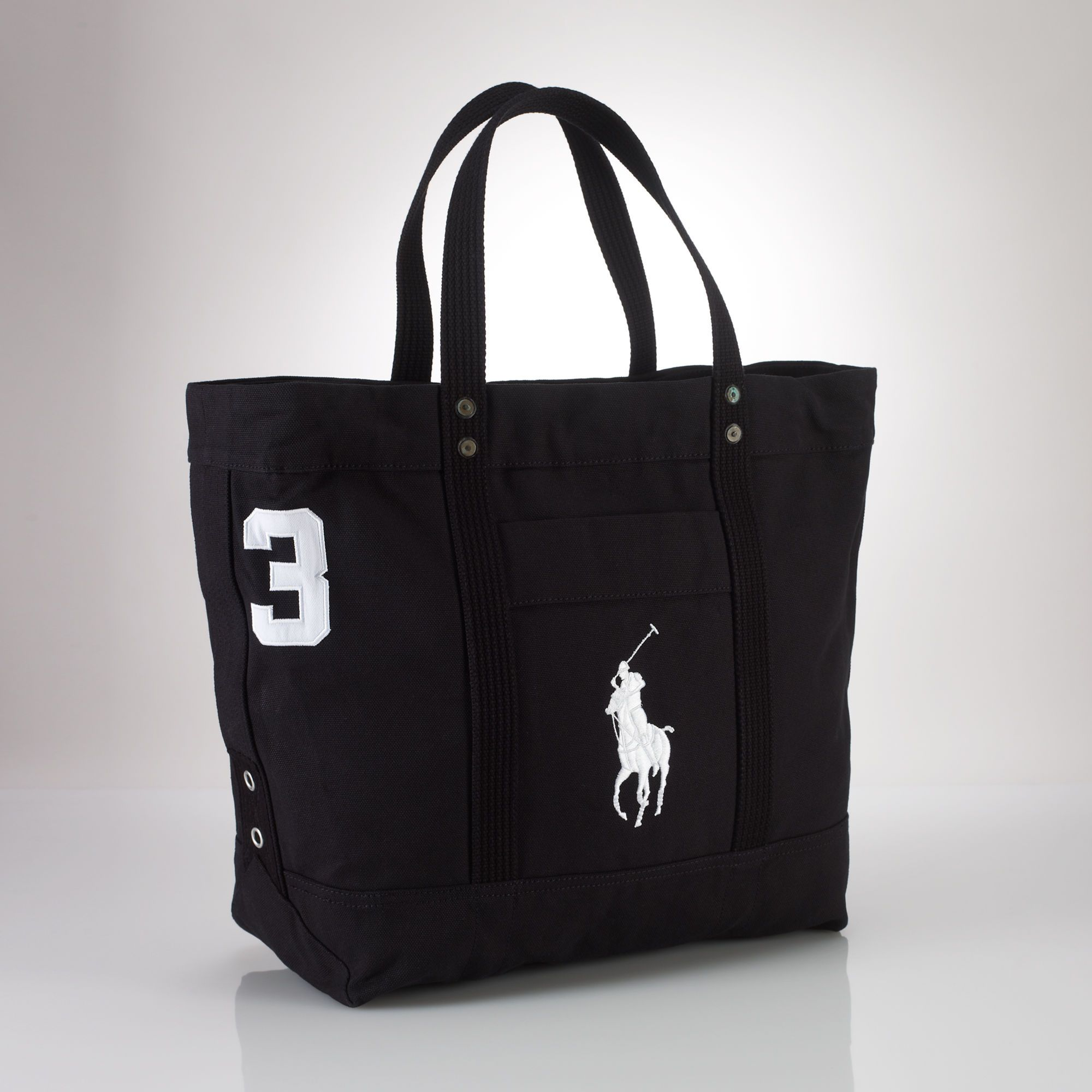 6989ee4bb688 Big Pony Zip Tote - Totes Bags   Business Accessories - RalphLauren ...
