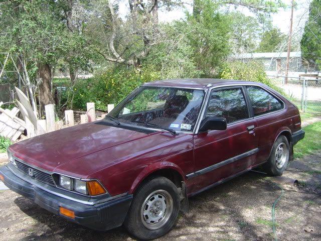Recently Given A 1983 Accord Lx Hatchback Honda Tech Hatchback Honda New Cars